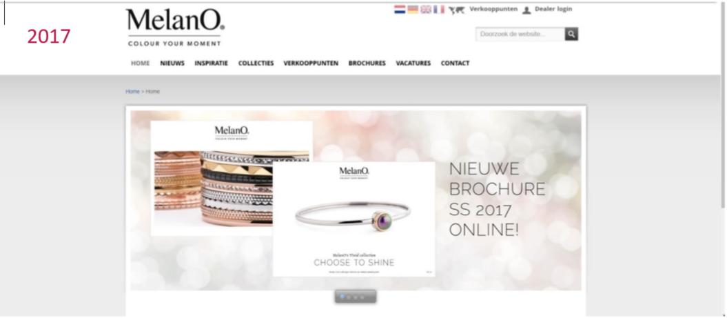 Afbeelding 6a oude webshop van melano in 2017