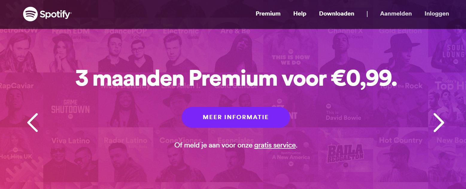 Afbeelding 3 - Spotify biedt een gratis proefperiode aan.png
