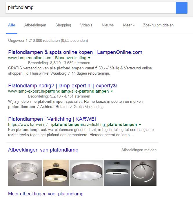 De image-pack is in de top tien zoekresultaten zichtbaar.png